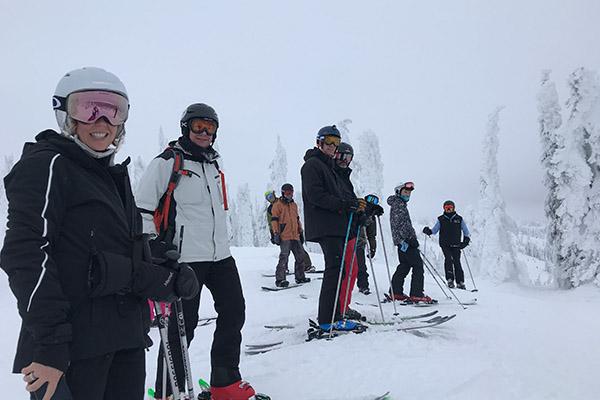 Hosted Ski Day
